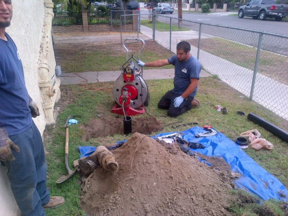 Trenchless Sewer Repair Santa Ana CA