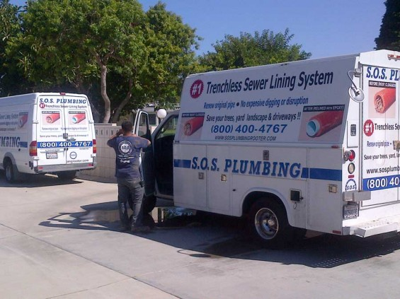 Trenchless Pipelining Orange County CA