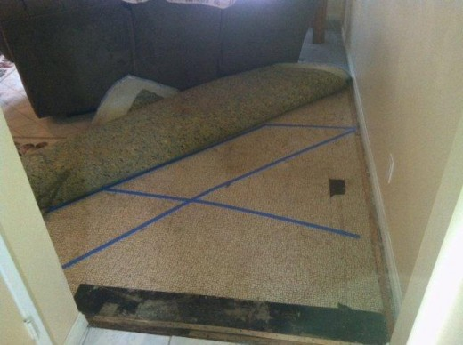 Cold Water Slab Leak Found in Living Room | Leak Detection California