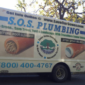 Successful trenchless sewer reline saves Hollywood Hills home